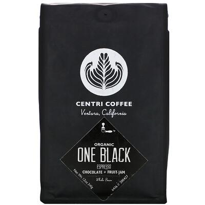 Купить Cafe Altura Organic Centri Coffee, One Black, Espresso, Whole Bean, Chocolate + Fruit Jam, 12 oz (340 g)