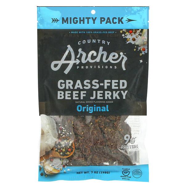 Grass-Fed Beef Jerky, Original, 7 oz (198 g)