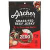 Country Archer Jerky, Grass-Fed Beef Jerky, Zero Sugar, Spicy Sesame Garlic, 2 oz (56 g)