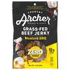 Country Archer Jerky, вяленые чипсы из говядины травяного откорма, без сахара, барбекю с горчицей, 56г (2унции)