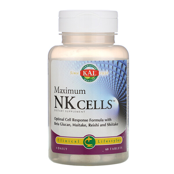 Maximum NK Cells, 60 Tablets