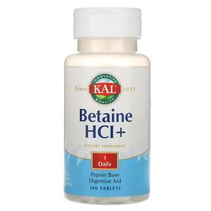 КАЛ, Betaine HCl+, 100 Tablets отзывы