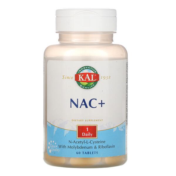 NAC+, 60 Tablets