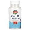 KAL, Zinc/ Orotate SR, 30 mg, 90 Tablets