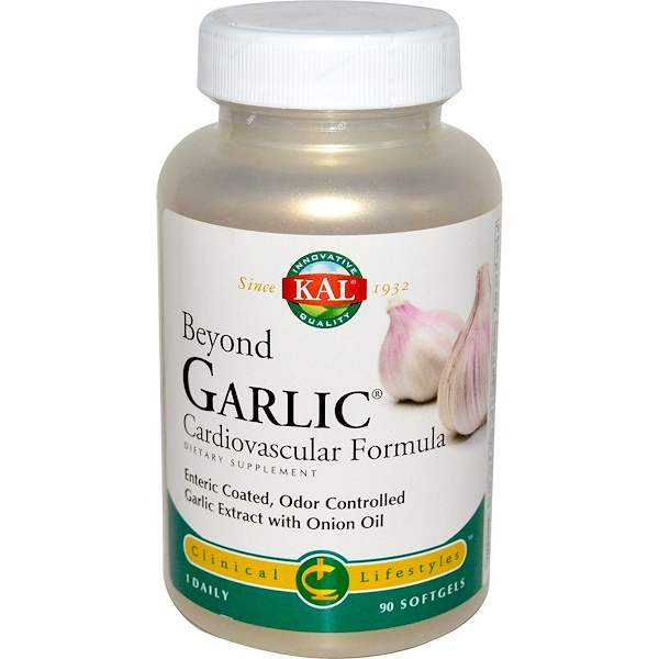KAL, Beyond Garlic, 90 Softgels (Discontinued Item)