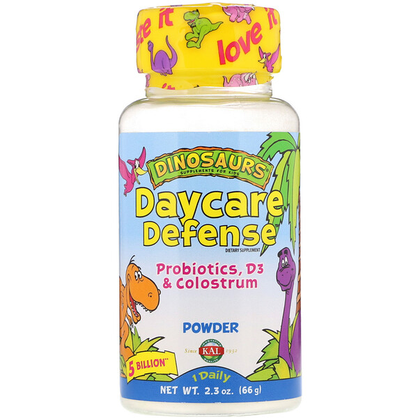 Daycare Defense, Probiotics, D3 & Colostrum, 2.3 oz (66 g)