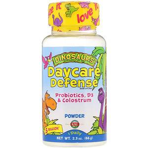 КАЛ, Daycare Defense, Probiotics, D3 & Colostrum, 2.3 oz (66 g) отзывы