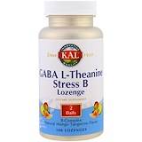 Отзывы о KAL, ГАМК, L-теанин, таблетки Stress B, натуральный аромат манго и танжерина, 100 таблеток