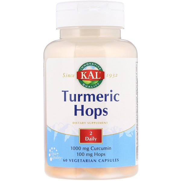 Turmeric Hops, 60 Vegetarian Capsules