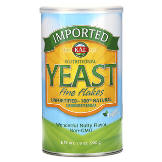 KAL, Imported Nutritional Yeast, Fine Flakes, 7.8 oz (220 g)