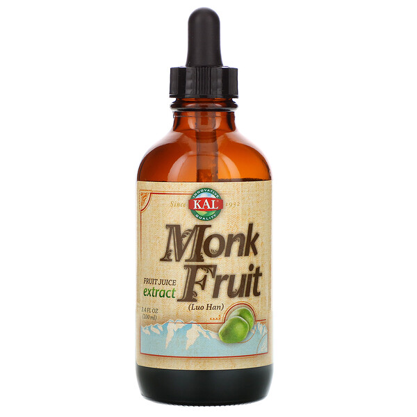 KAL, Monk Fruit Extract, 3.4 fl oz (100 ml)