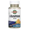 KAL, L-谷胱甘肽微片,香橙味,25 毫克,90 片装