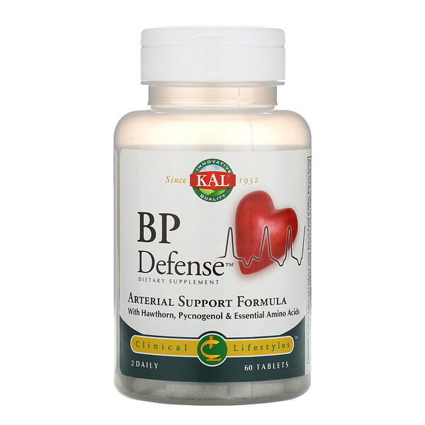 BP Defense, Arterial Support Formula, 60 Tablets
