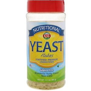 КАЛ, Nutritional Yeast Flakes, Unsweetened, 3.1 oz (90 g) отзывы покупателей