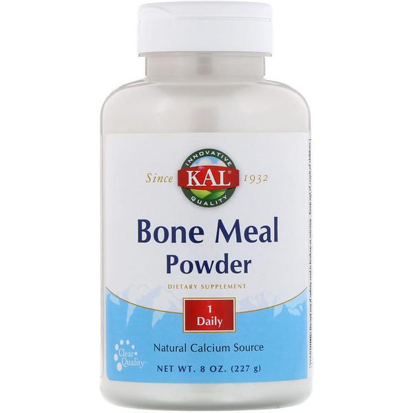 KAL, Bone Meal Powder, 8 oz (227 g)
