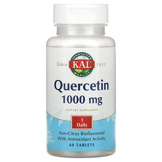 KAL, кверцетин, 1000мг, 60таблеток