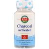Активированный уголь, 280 мг, 50 капсул с оболочкой из ингредиентов растительного происхождения