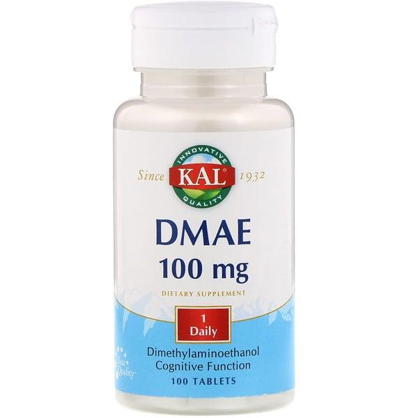 KAL, 二甲氨基乙醇,100毫克,100片片劑