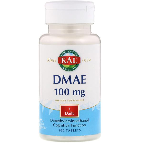 DMAE、100mg、100錠