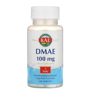КАЛ, DMAE, 100 mg, 100 Tablets отзывы