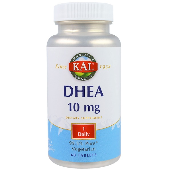 KAL, DHEA، 10 مغم، 60 قرص (Discontinued Item)