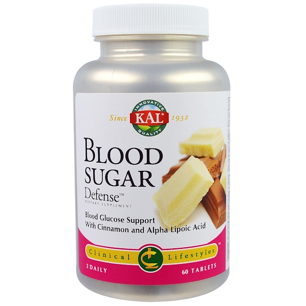 Blood Sugar Defense, 60 Tablets