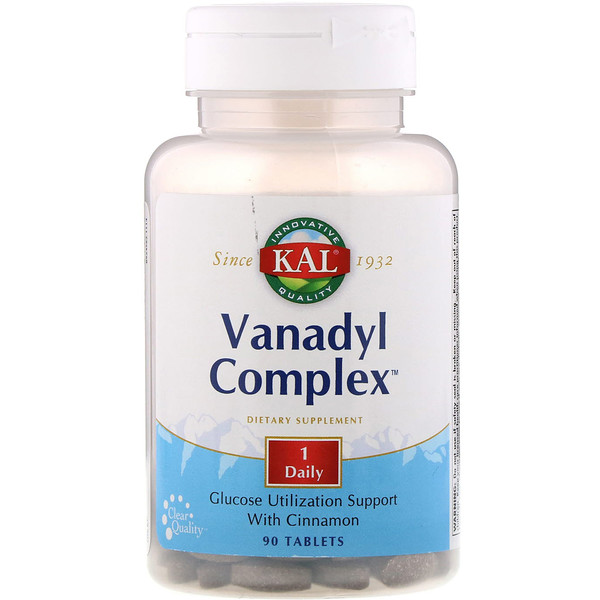 Vanadyl Complex, 90 Tablets