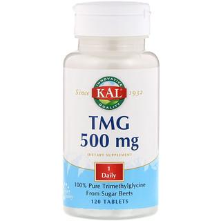 KAL, TMG, 500 mg, 120 Tablets