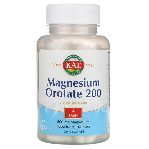 Magnesium Orotate 200, 200 mg, 120 Vegcaps