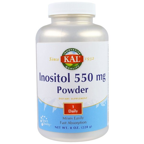 KAL, Inositol 550 mg Powder, 8 oz (228 g) (Discontinued Item)