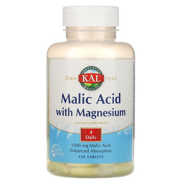 Malic Acid with Magnesium, 120 Tablets