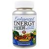 KAL, Усиленная энергия, для подростков, смесь для памяти и концентрации, 60 вегетарианских таблеток