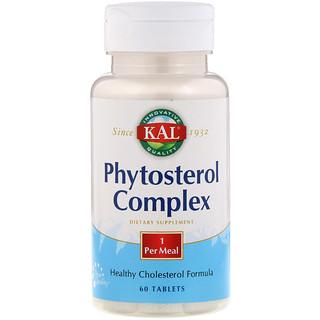 KAL, Phytosterol Complex, 60 Tablets