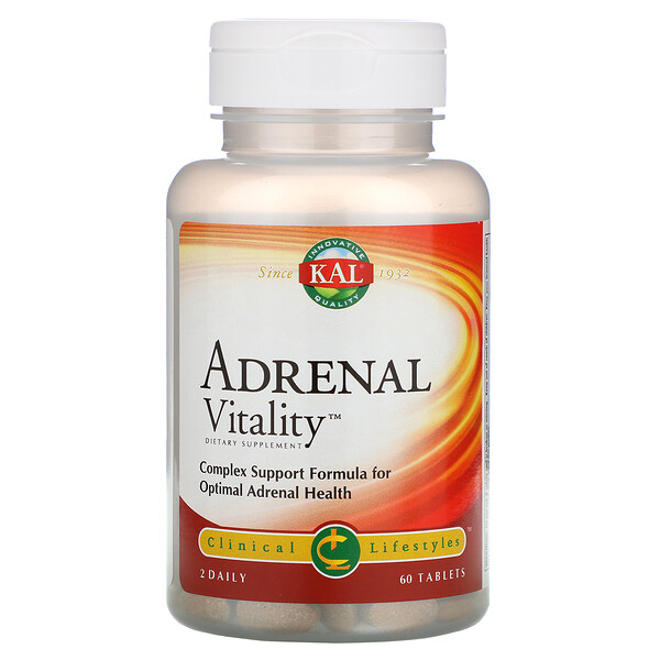 Adrenal Vitality, 60 Tablets