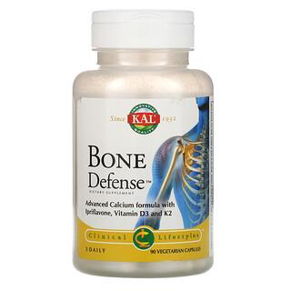 KAL, Bone Defense, защита костей, 90вегетарианских капсул
