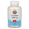 KAL, L-Lysine, 1,000 mg, 100 Tablets
