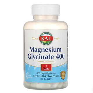 KAL, глицинат магния400, 400мг, 180таблеток