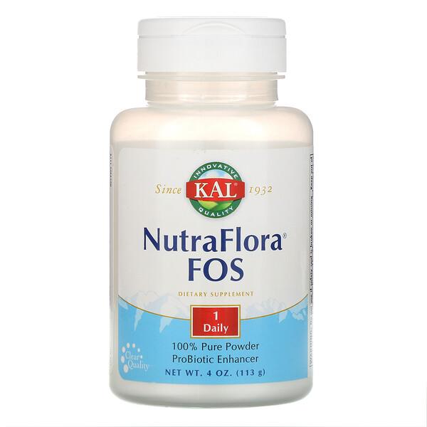 NutraFlora FOS ، 4 أوقية (113 غرام)