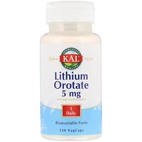 Оротат лития, 5 мг, 120 капсул - фото
