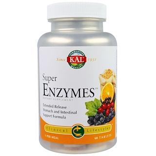 KAL, Super Enzimas, 60 comprimidos