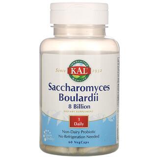 KAL, Saccharomyces Boulardii, 8 Billion, 60 VegCaps