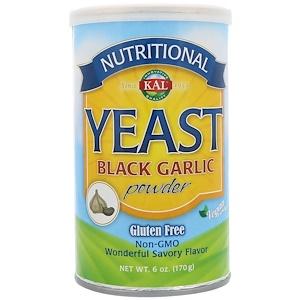 КАЛ, Nutritional Yeast, Black Garlic Powder, 6 oz (170 g) отзывы