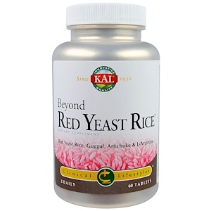 КАЛ, Beyond Red Yeast Rice, 60 Tablets отзывы