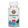 KAL, Melatonina, Sabor Natural de Chocolate e Menta, 1 mg, 120 micro comprimidos