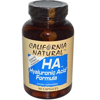 California Natural, HA, Hyaluronic Acid Formula, 90 Capsules