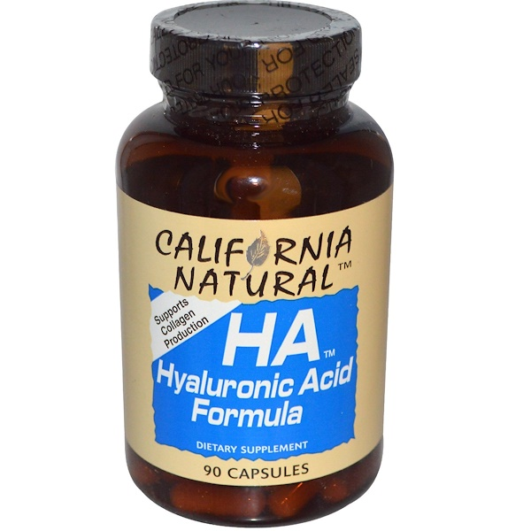 California Natural, HA-透明質酸配方,90粒