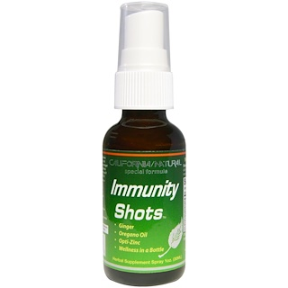 California Natural, Immunity Shots Spray, 1 oz (30 ml)