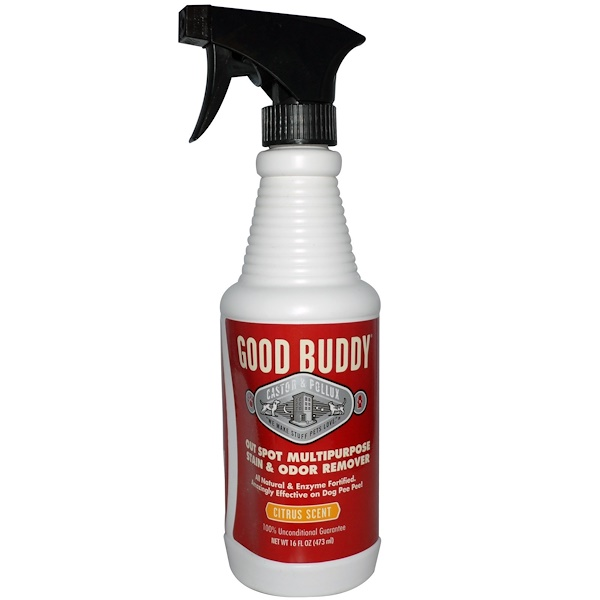 Castor & Pollux, Good Buddy, Out Spot Multipurpose Stain & Odor Remover, Citrus Scent, 16 fl oz (473 ml) (Discontinued Item)