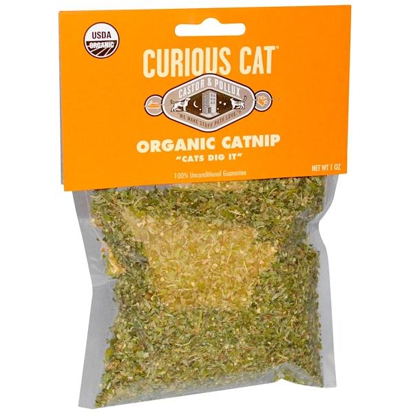Castor & Pollux, Curious Cat, Organic Catnip, 1 oz (Discontinued Item)