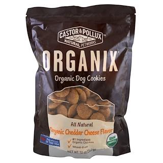 Castor & Pollux, Organix, Organic Dog Cookies, Cheddar Cheese Flavor, 12 oz (340 g)